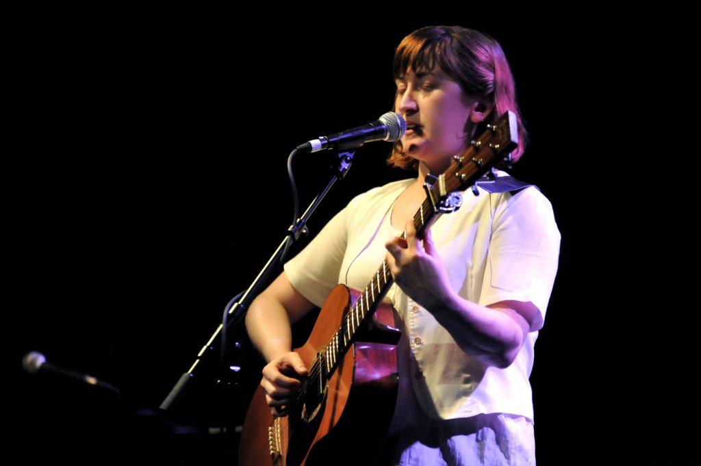 Liz Green in Frankfurt (foto: ng/miriam diaz gomez)