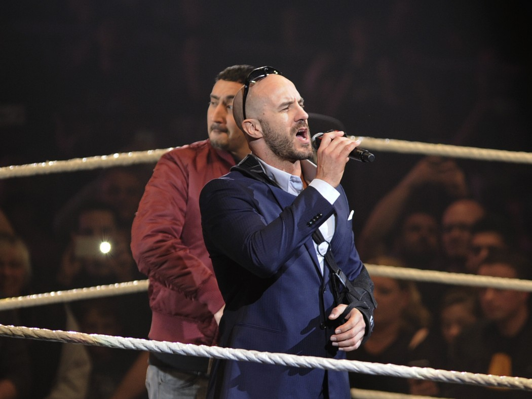 Antonio Cesaro und Eko Fresh (foto: neon ghosts)